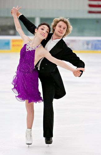 Meryl Davis and Charlie White. The greatest American ice dancer team of all time and amazing, wonderful people both on and off the ice.