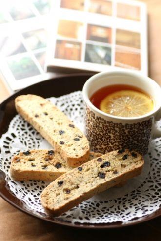 ワイルドブルーベリーとアールグレイのビスコッティのレシピ | キッチン | パンとお菓子のレシピポータル
