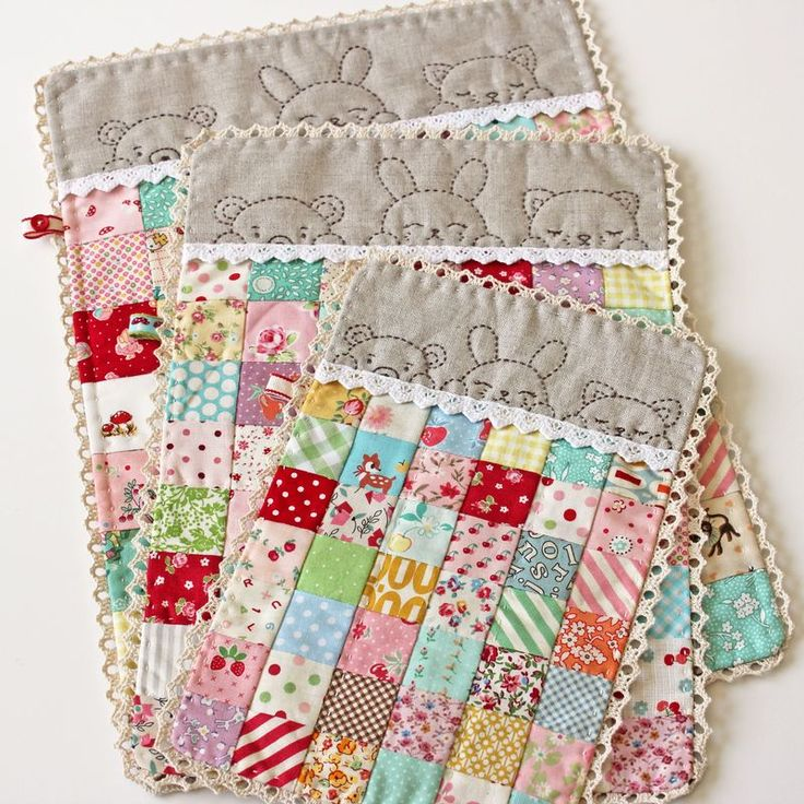 simply the sweetest, cutest little doll quilts ever!!