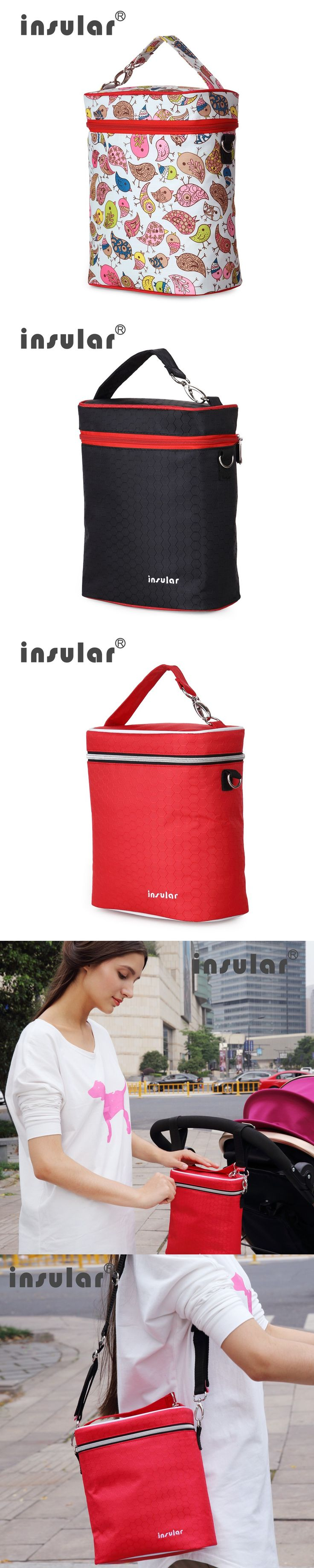 Baby Milk Bottle Insulation Bags Mummy Outside Warmer Thermal Food Organizer Mom Stroller Accessories Baby Care $10.86