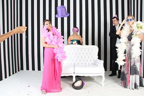 Como incluir uma cabine de fotografias no casamento | O Nosso Casamento