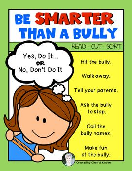 {Smarter than a Bully} Sort for Kindergarten and First ...