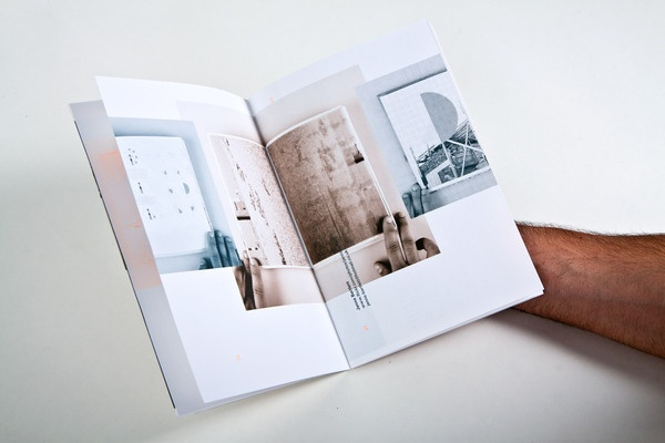 uca farnham graphic communication course booklet by Modular , via Behance