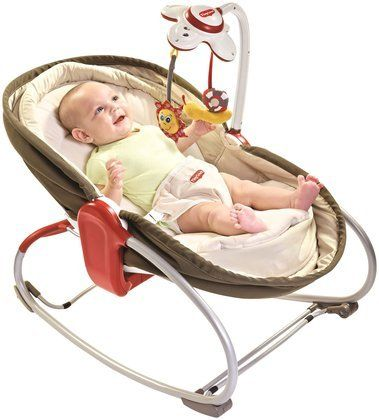 Tiny Love 3-in-1 Rocker Napper - Brown - Free Shipping