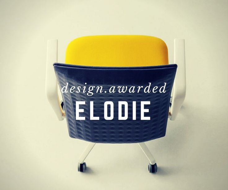 Minimalist and functional. The exclusive design of Elodie integrates a sound-absorbent panel in the backrest. The design by Marc Sadler has been awarded with the #RedDotAward 2017 and #Innovationspreis Architecture+Office.  www.gaber.it