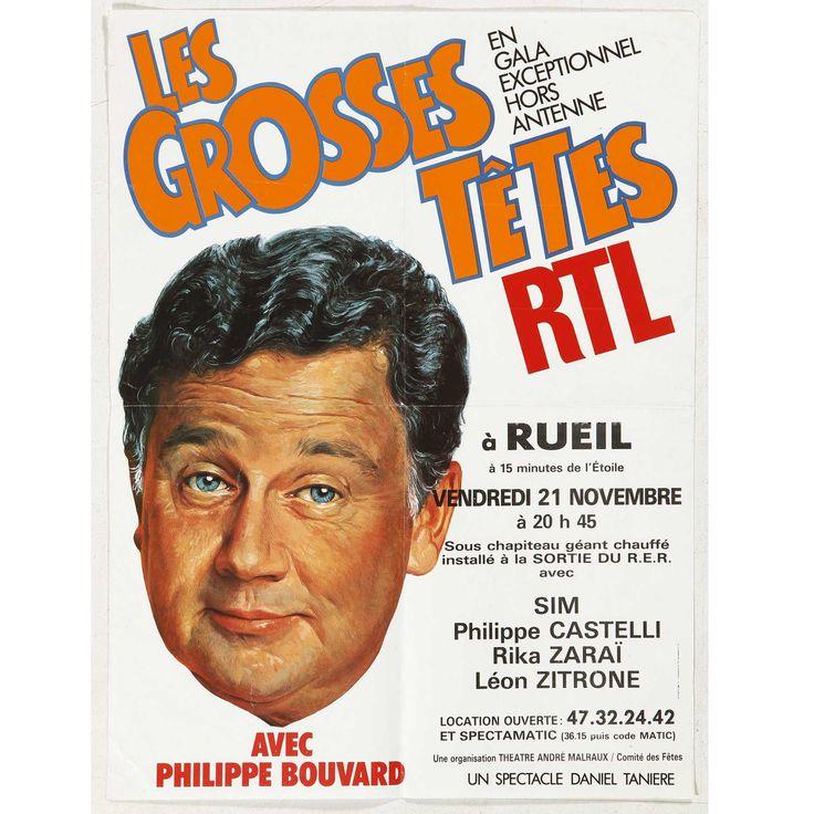 ANONYME. Les grosses têtes RTL à Rueil