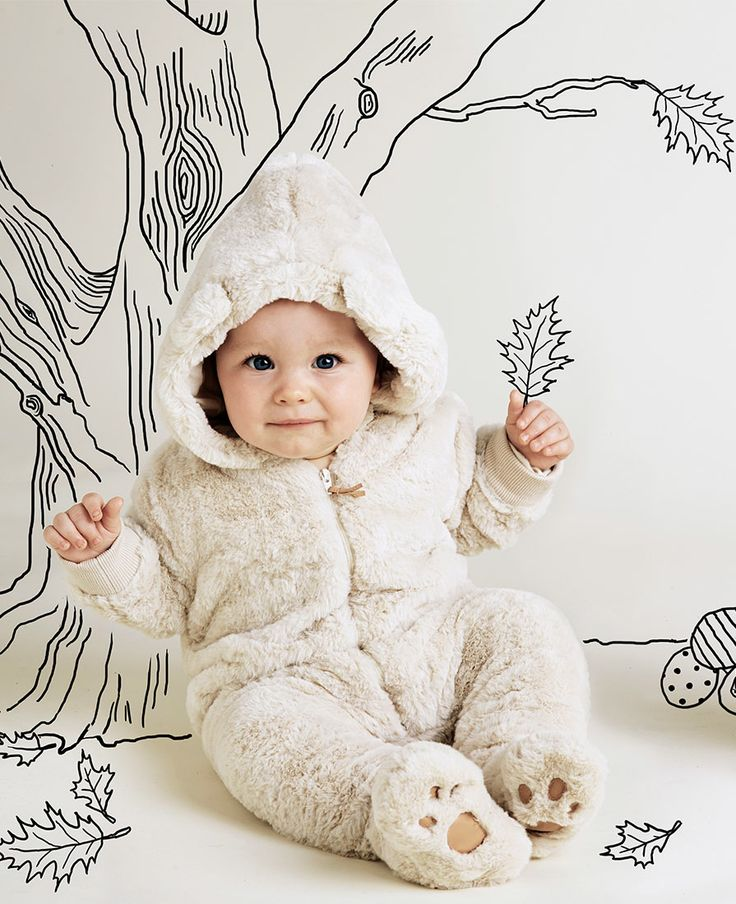 Baby Boy's Bear Suit Grow - Bardot Junior