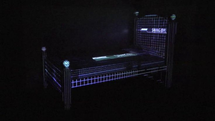 """Daniel Leyva - Save Point, 2012. """"Big Reality"""" curated by Brian Droitcour http://319scholes.org/exhibition/big-reality  I want this BED!  Glitch Sleep"""