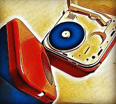 BRIONVEGA Fonovalgia Vintage  FV 1016 Designer Zanuso e Sapper 1964 Rossa 🎼 | eBay