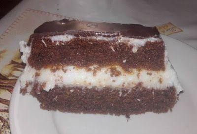 Éhezésmentes karcsúság Szafival - Kókuszkrémes torta