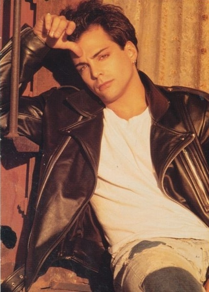 "Richard Grieco-I was sooo in love with Richard Grieco when he was in Twenty One Jump Street and Booker. Had every tape until someone ""taped"" over them....tearss... tears...."