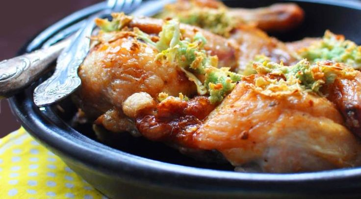 Чкмерули (чесночная курица по-грузински)