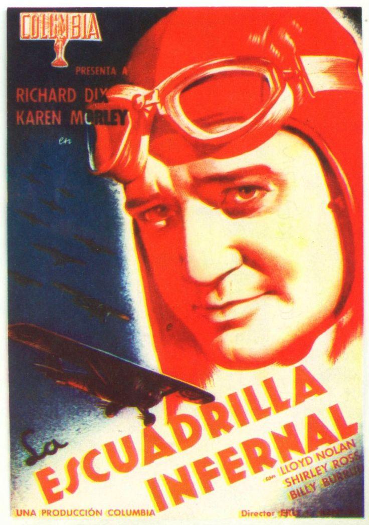 """La escuadrilla infernal (1936) """"Devil's Squadron"""" de Erle C. Kenton - tt0027520"""