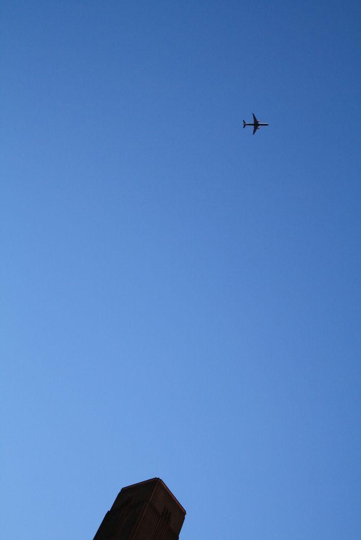 a plane again
