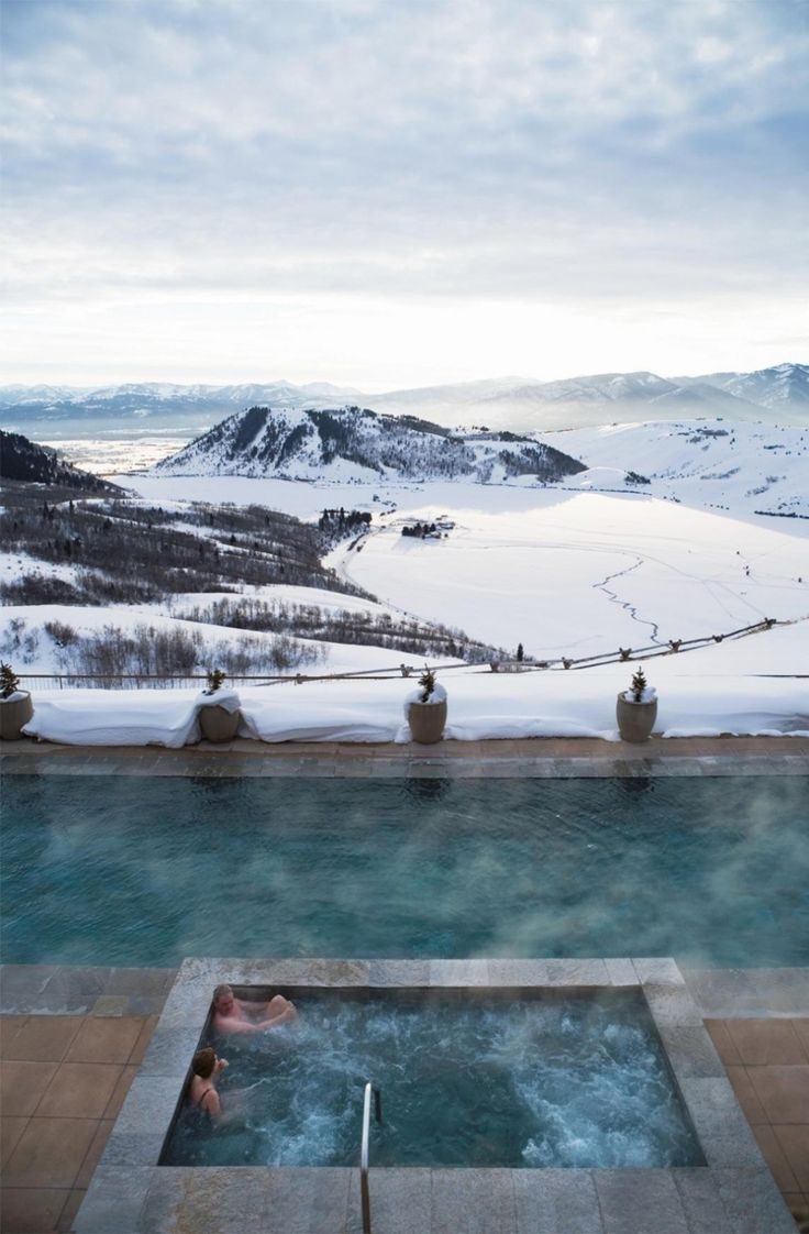 Amangani luxury resort - Jackson Hole, Wyoming, USA