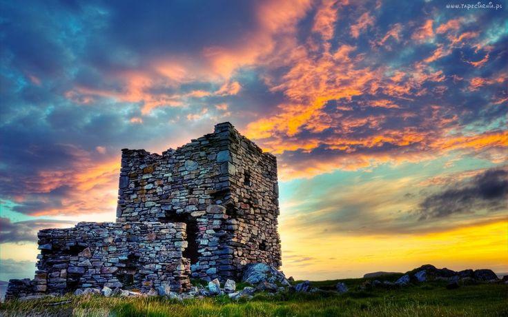 Ruiny, Chmury