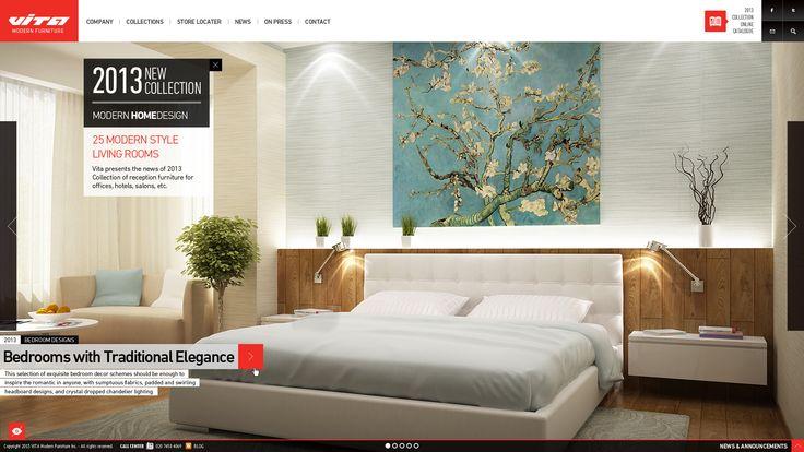 Vita - Modern Furniture PSD Template - - full width homepage first slide