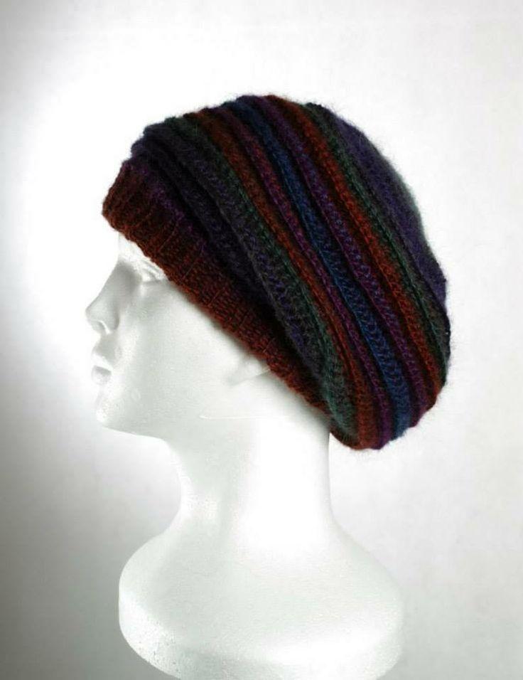 Háčkovaný baret - Crochet Hat