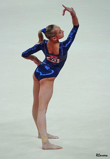 Viktoria Komova. AA silver London 2012.