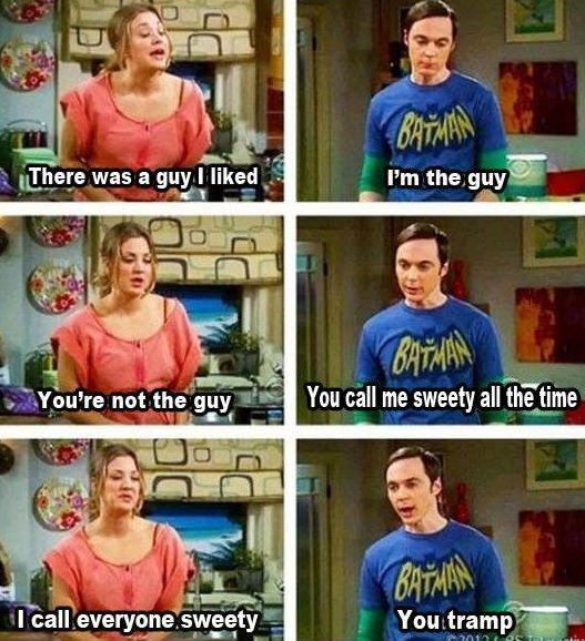 LOL - Sheldon- this reminds me of myself soooo much! hehe, oh gabbbyyyy