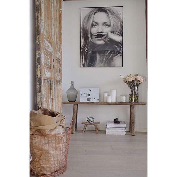 Kate Moss - Life is a joke - Poster