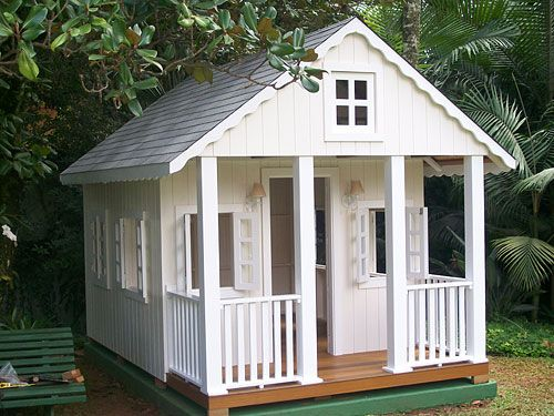 Cubby House :) love the look if this one