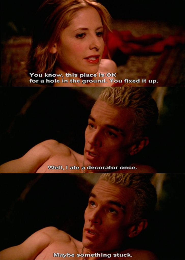 buffy and spike relationship episodes of castle