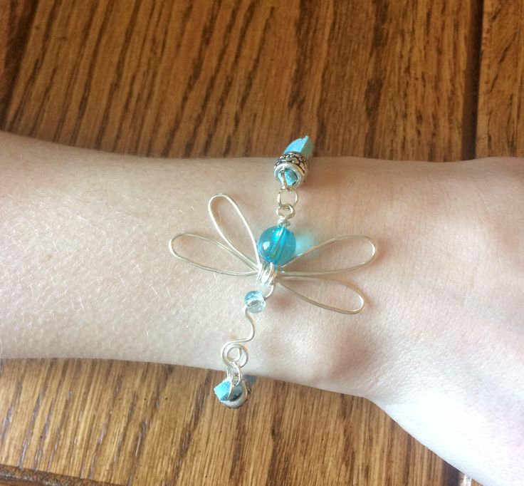 Dragonfly Cord Bracelet, Turquoise Dragonly Braided Jewelry, Wire Wrapped Bracelet Jewelry, Nature Insect Bracelet Jewelry, Teacher Mom Gift by JellyTreeJewelry on Etsy https://www.etsy.com/ca/listing/513463358/dragonfly-cord-bracelet-turquoise
