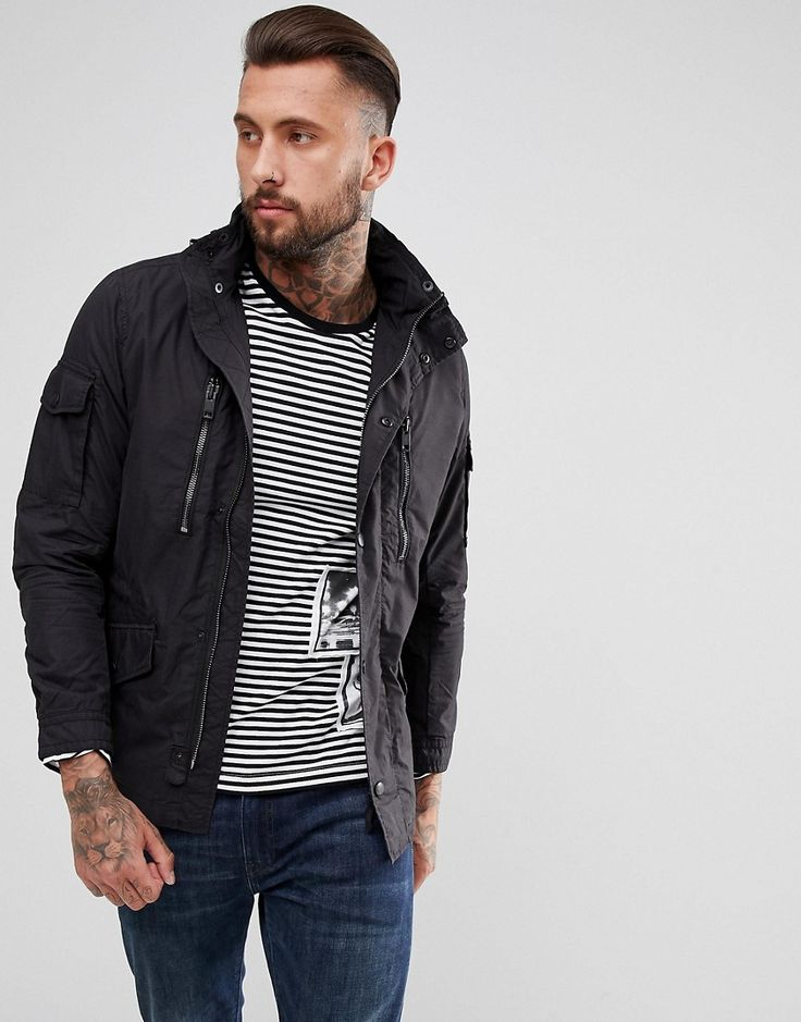 Diesel J-Engines Field Jacket - Navy