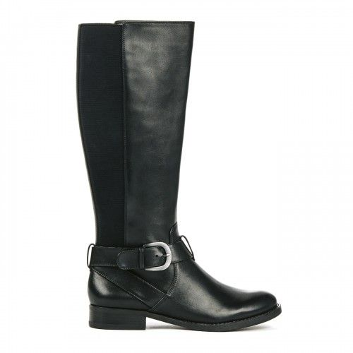 Maddy stretch panel boot - Black.