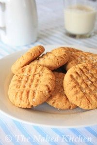 Peanut Butter Cookies | The Naked Kitchen