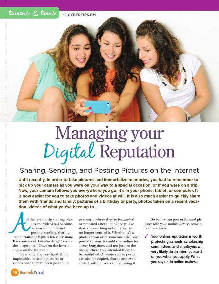 Don't let your teen make mistakes online! #BermudaParentMagazine