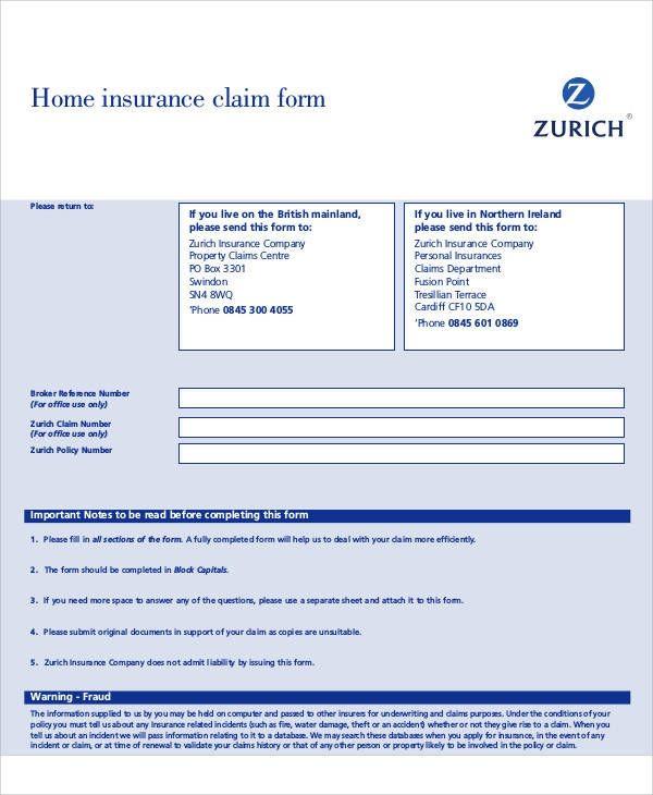 Insurance Zurich