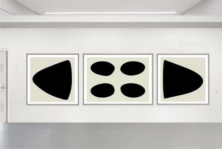 Raimondo Bonamici: Il nero dentro: Inchiostro su cartone cotonato, 150 x 500 cm, 2016 N°2, 150 x 150 cm - N°1, 150 x 200 cm
