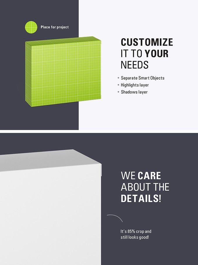 Download Free Cardboard Box Mockup Square Slim Size Standing Box Free Package Mockups Box Mockup Free Packaging Mockup Cardboard Box