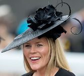 Autumn Phillips, June 16, 2015 in Gina Foster | Royal Hats