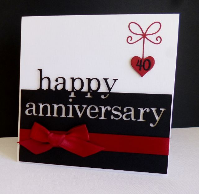 CC621 ~ Ruby Anniversary by sistersandie - Cards and Paper Crafts at Splitcoaststampers