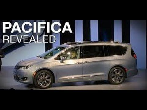 North American International Auto Show | 2017 Chrysler Pacifica Revealed...