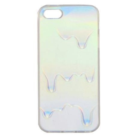 OPALESCENT OIL HOLOGRAPHIC IPHONE CASE $9