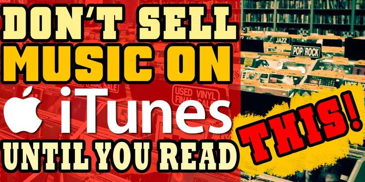 times have changed and while getting distribution in major retailers is still an incredible feat there are now major digital stores such as iTunes who have made it easier than ever to sell your music worldwide. BUT before you release your music on iTunes and proudly plaster the link all over the digital wo