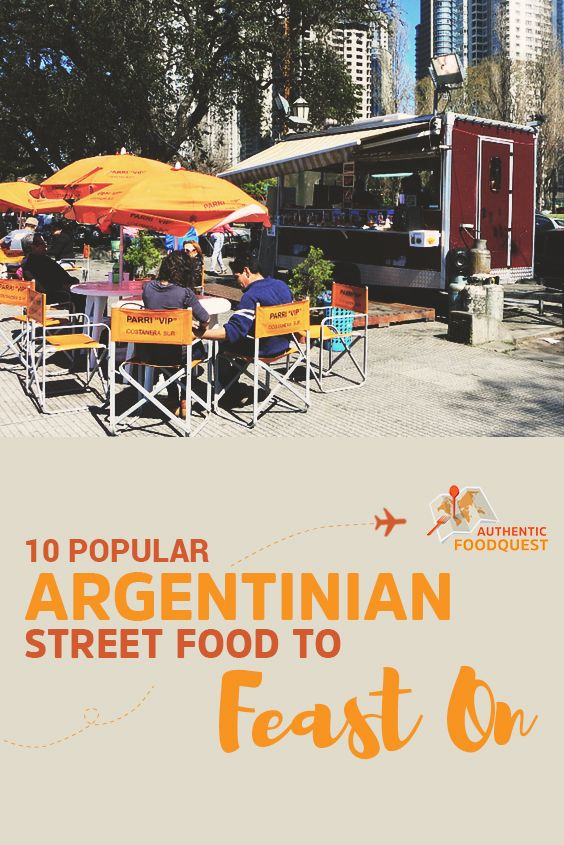 sneaker con Here are 10 delicious and authentic street foods not to miss in Argentina  Enjoy