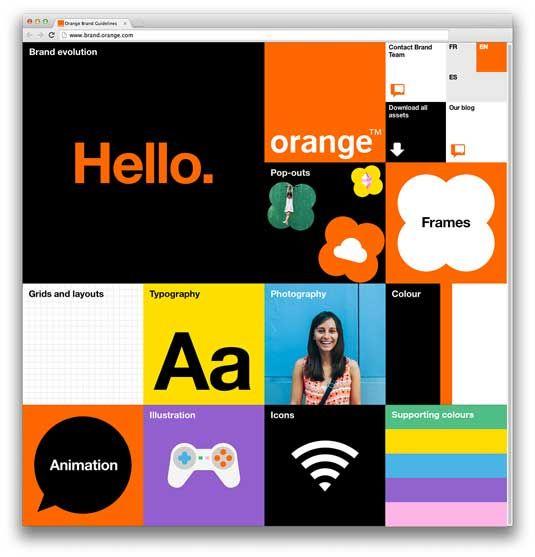Wolff Olins Branding for Orange