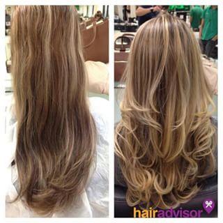 """Este antes e depois poderia se chamar """"Agora sim!"""".   15 cortes de cabelos longos pra quem quer só tirar as pontinhas"""