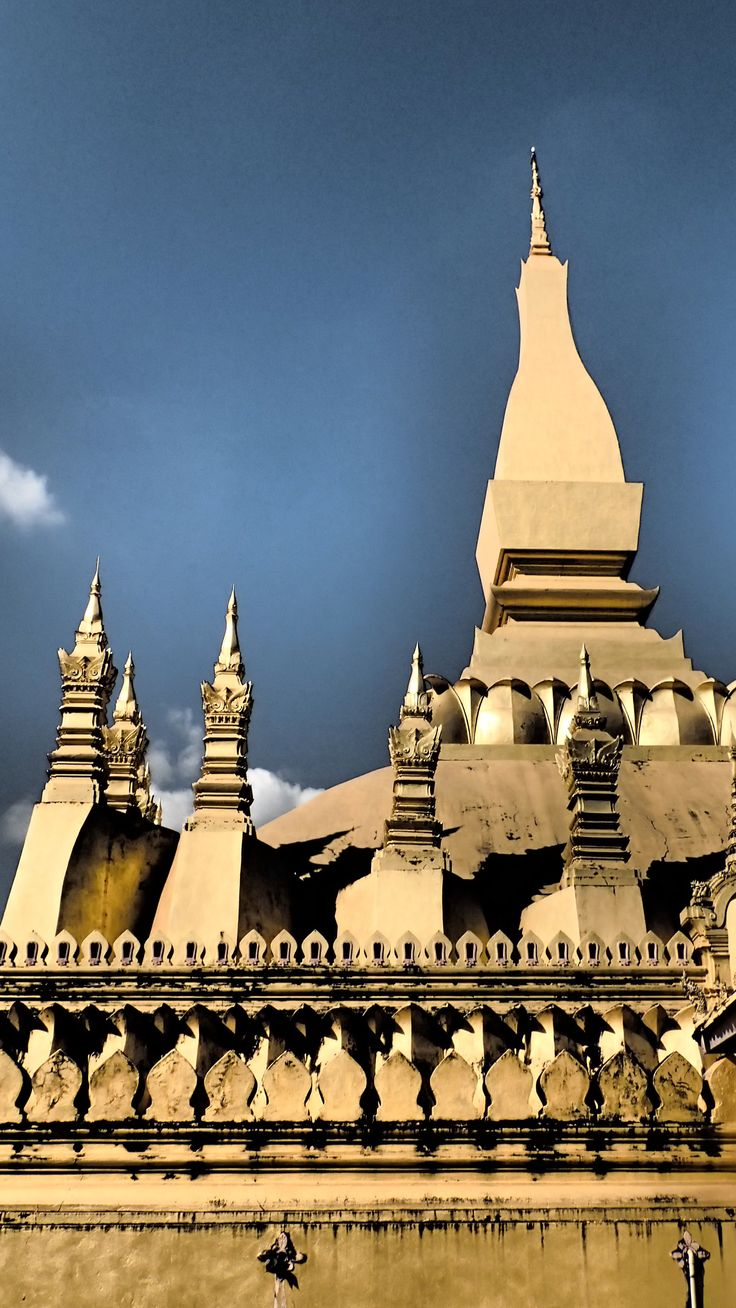 Great Sacred Stupa, Pha That Luang in Vientiane