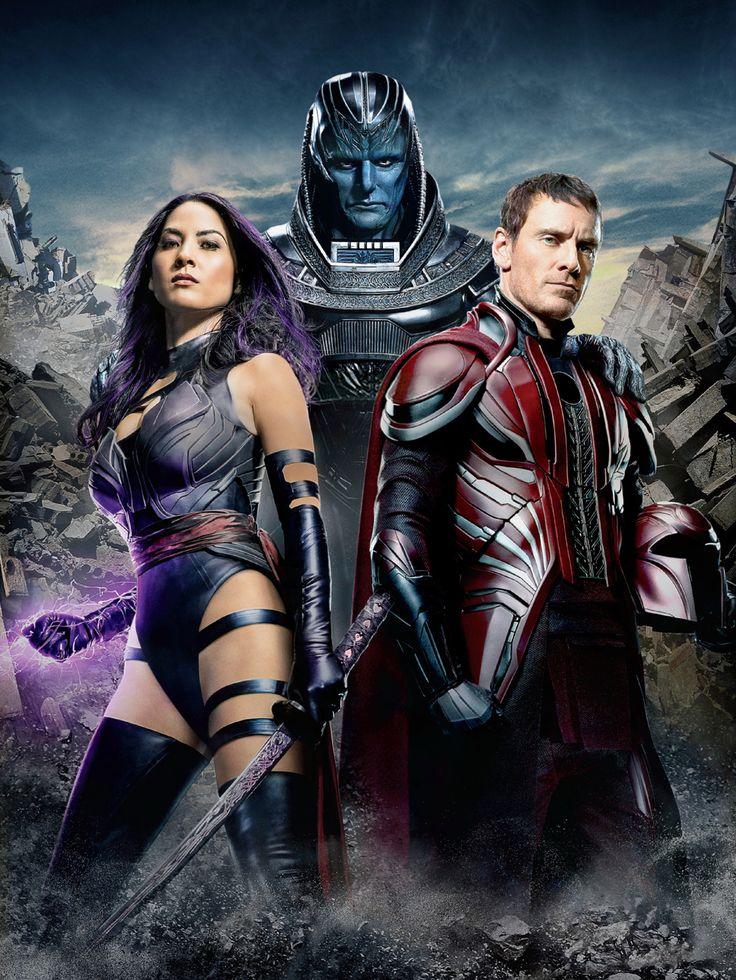 X-MEN: APOCALYPSE - Apocalipse horsemen Psylocke and Magneto