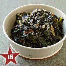 Weight Watchers Quick Southern-Style Collard Greens  Serving Size: 3/4 cup  Points Plus Value: 2