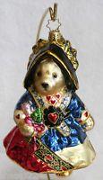 "Christopher Radko ""MUFFY QUEEN of HEARTS"" Vanderbear ornament- retired - 2005"