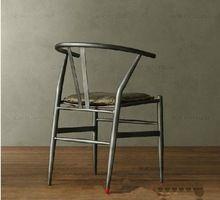 Чердак американский в стиле кантри мебель, Из кованого железа стулья античная винтаж добыча бар обеденный уголок кресла(China (Mainland))