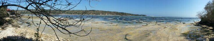 Seaweed farm @nusalembongan, panorama mode