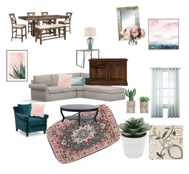 """colors living room"" by elenton on Polyvore featuring interior, interiors, interior design, дом, home decor, interior decorating, Pottery Barn, Frontgate, West Elm и Williams-Sonoma"